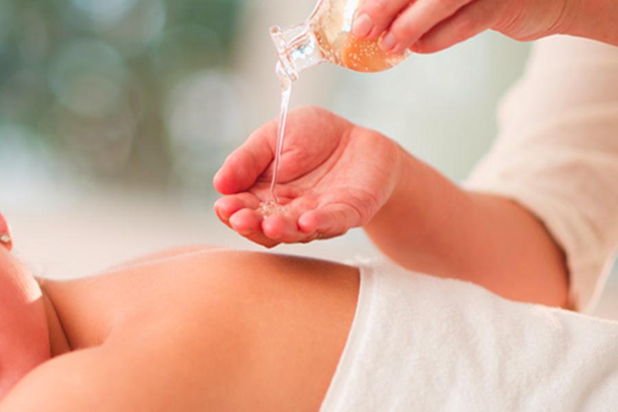 olio canapa massaggi