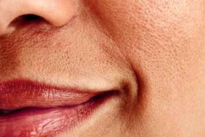 trama pelle viso