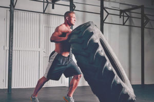 allenamento ruota crossfit