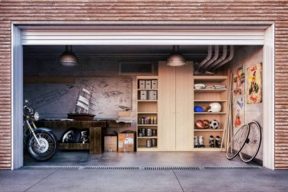 come arredare il garage