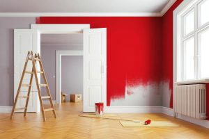pittura pareti interne