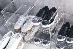 scatole scarpe plastica