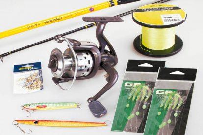 kit completo pesca