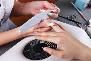 aspiratore polvere per unghie