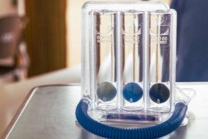 incentivatore di respirazione polmonare
