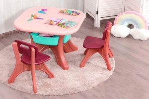 set tavolo e sedie bambini