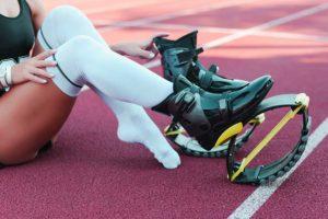 scarpe rimbalzanti da salto