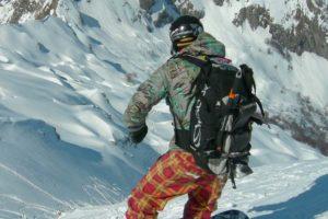 zaino snowboard