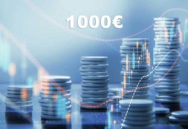 investire 1000 euro